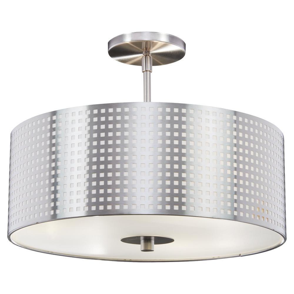 George Kovacs Lighting - Grid Semi Flush