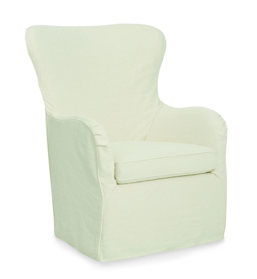 CR Laine Furniture - Cayden Slipcover Swivel Chair