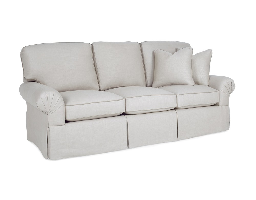 CR Laine Furniture - Pleated Arm Sofa