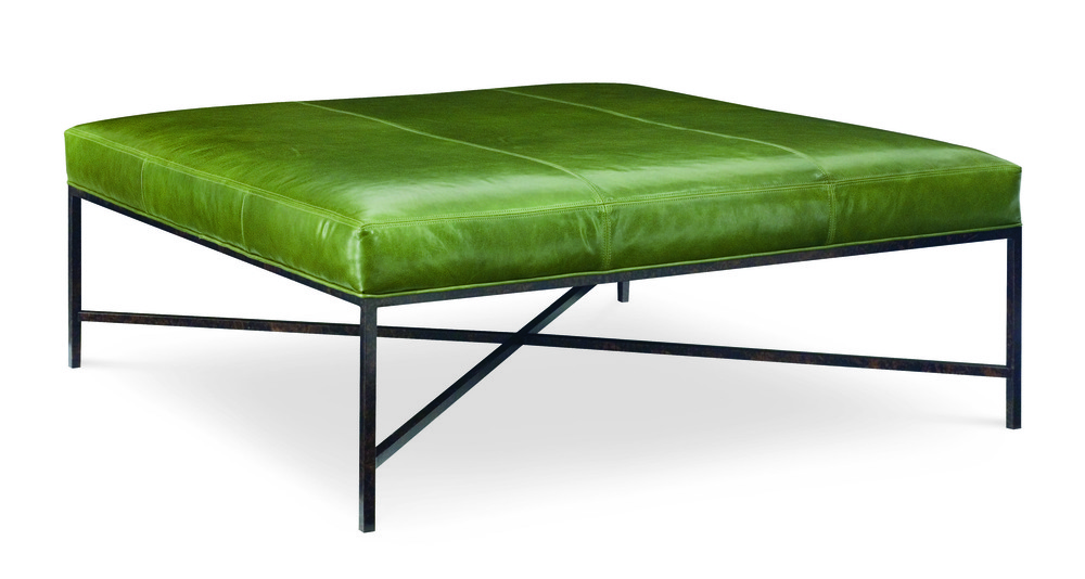 CR Laine Furniture - Metal Base Square Bench
