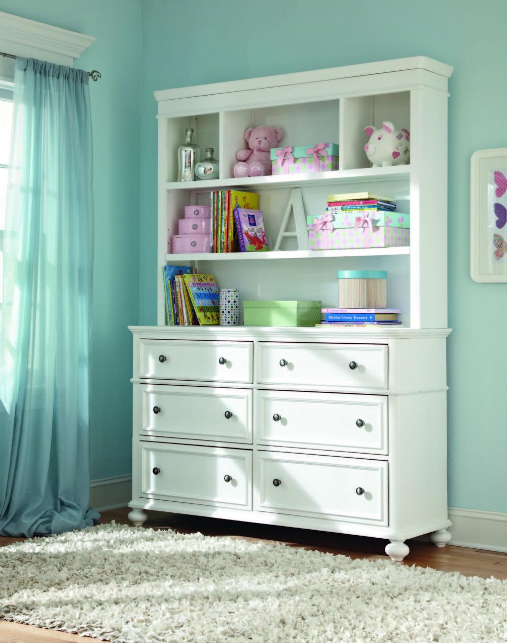 Legacy Classic Furniture - Dresser and Hutch