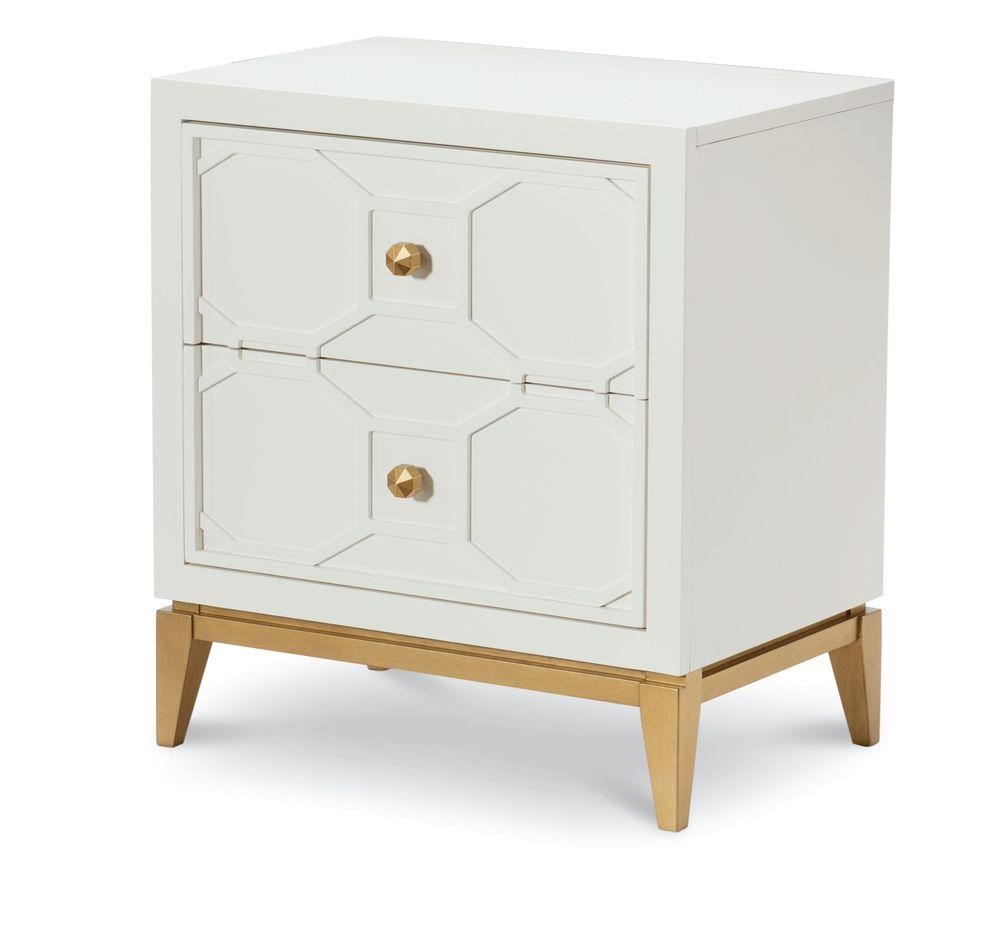 Legacy Classic Furniture - Night Stand with Decorative Lattice