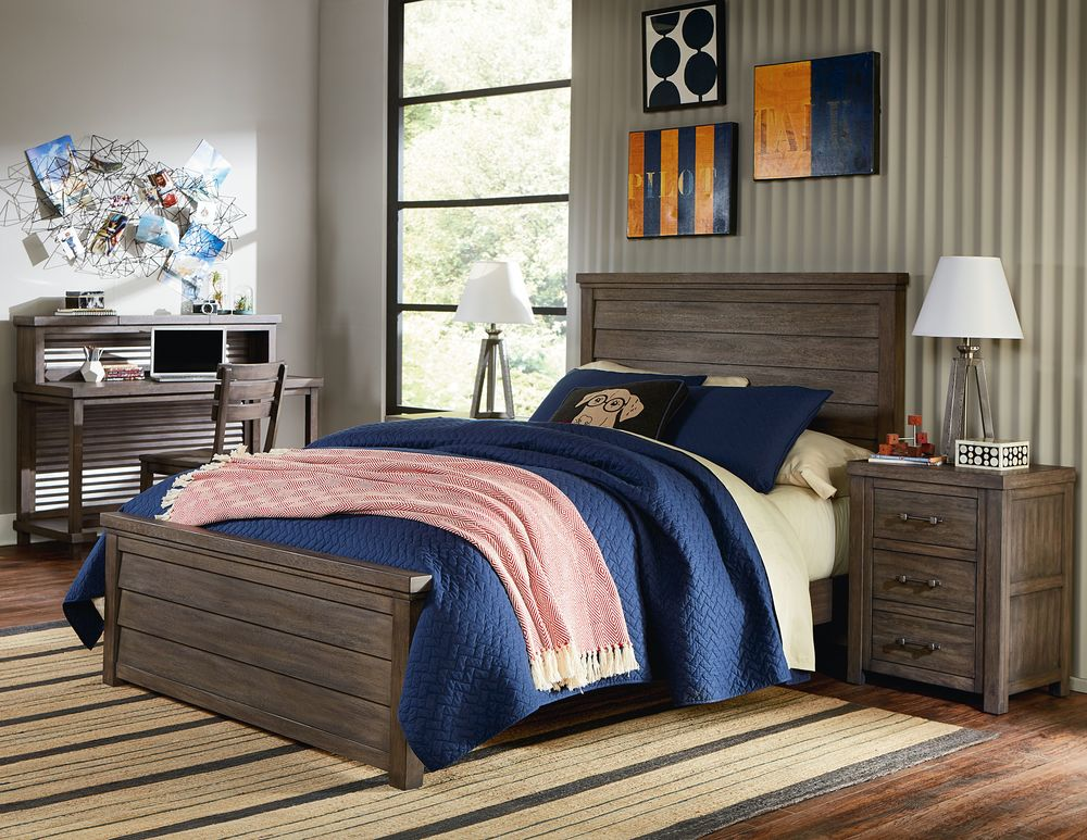 Legacy Classic Furniture - Full Louvered Panel Bed