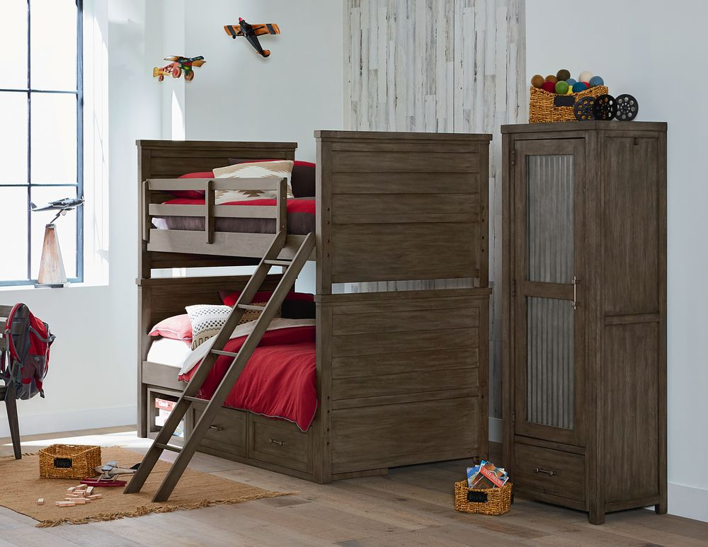 Legacy Classic Furniture - Twin over Twin Bunk Bed
