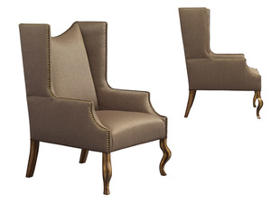 Thumbnail of Leathercraft - Wing Chair