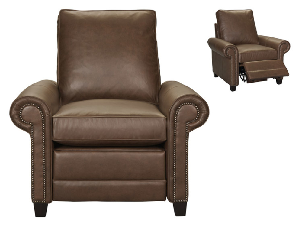Leathercraft - Recliner with Tapered Leg