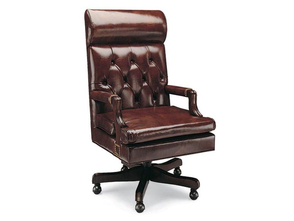 Leathercraft - Judges Tilt Swivel Chair