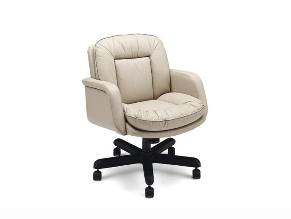 Leathercraft - Low Back Tilt Swivel Chair