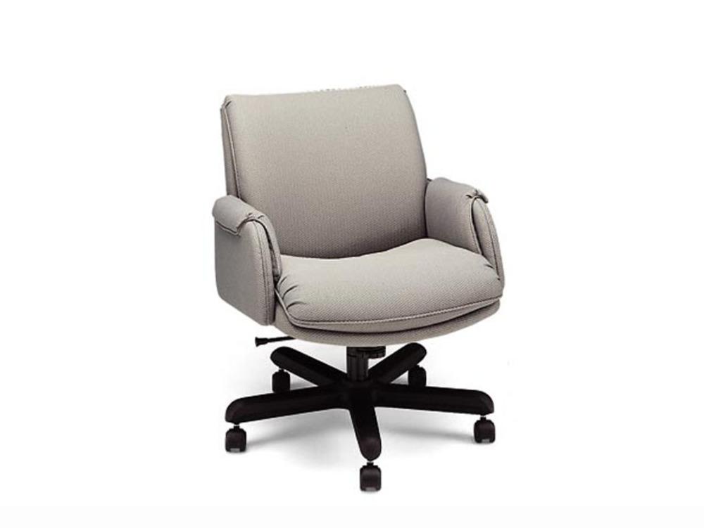 Leathercraft - Low Back Tilt Swivel Chair