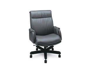Thumbnail of Leathercraft - Extra High Back Tilt Swivel Chair