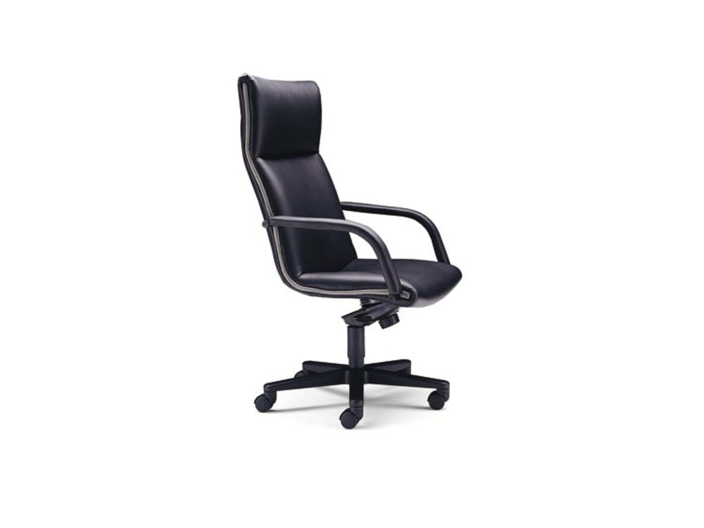 Leathercraft - High Back Knee Tilt Swivel Chair