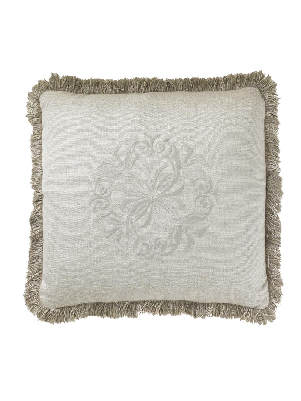 Lexington - Courtrai Throw Pillow, Linen