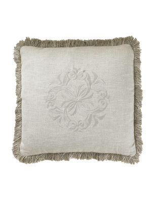 Thumbnail of Lexington - Courtrai Throw Pillow, Linen