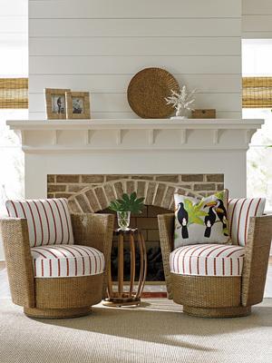 Thumbnail of Lexington - Tarpon Cay Swivel Chair