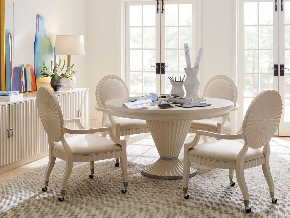 Lexington - Preston Game Chair With Casters