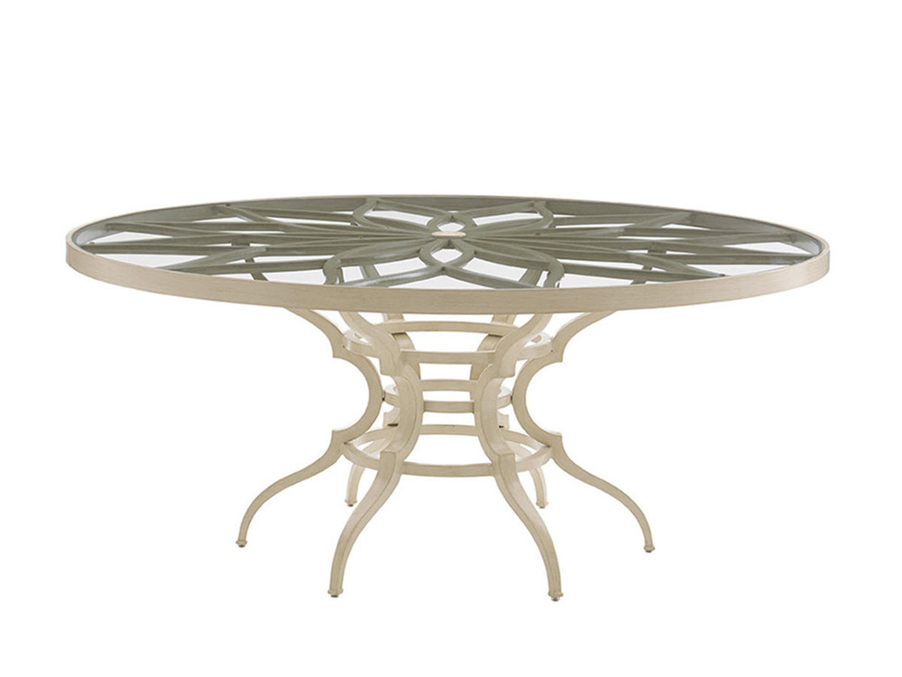 Lexington - Dining Table with Glass Top