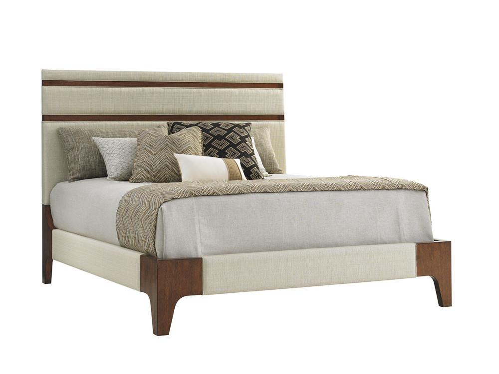 Lexington - Mandarin Upholstered Panel Bed