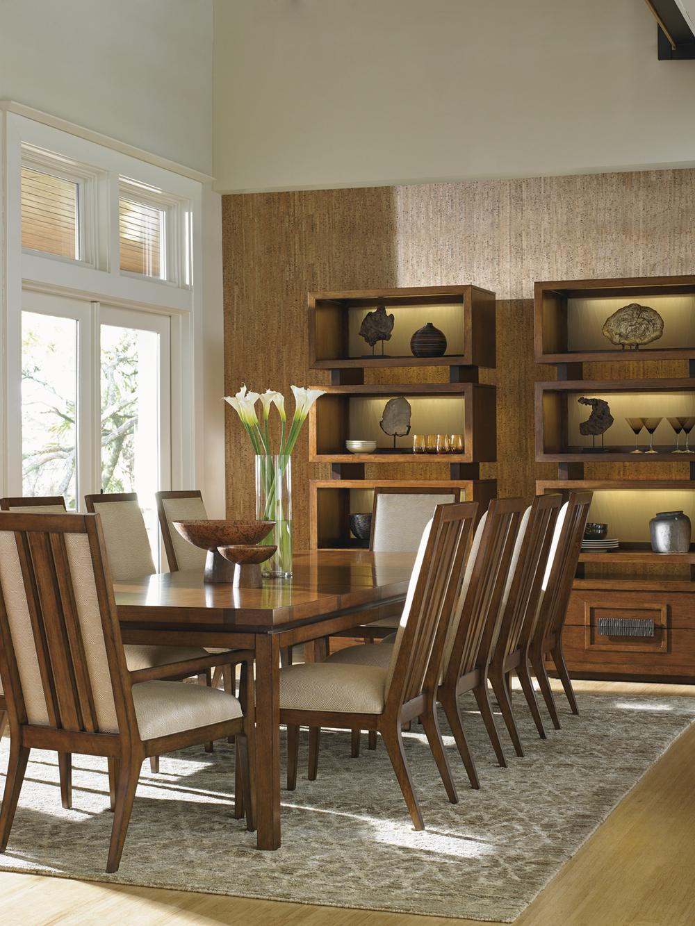 Lexington - Natori Slat Back Side Chair