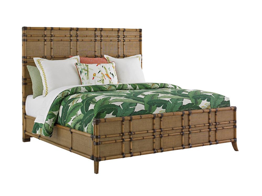 Lexington - Coco Bay Panel Bed