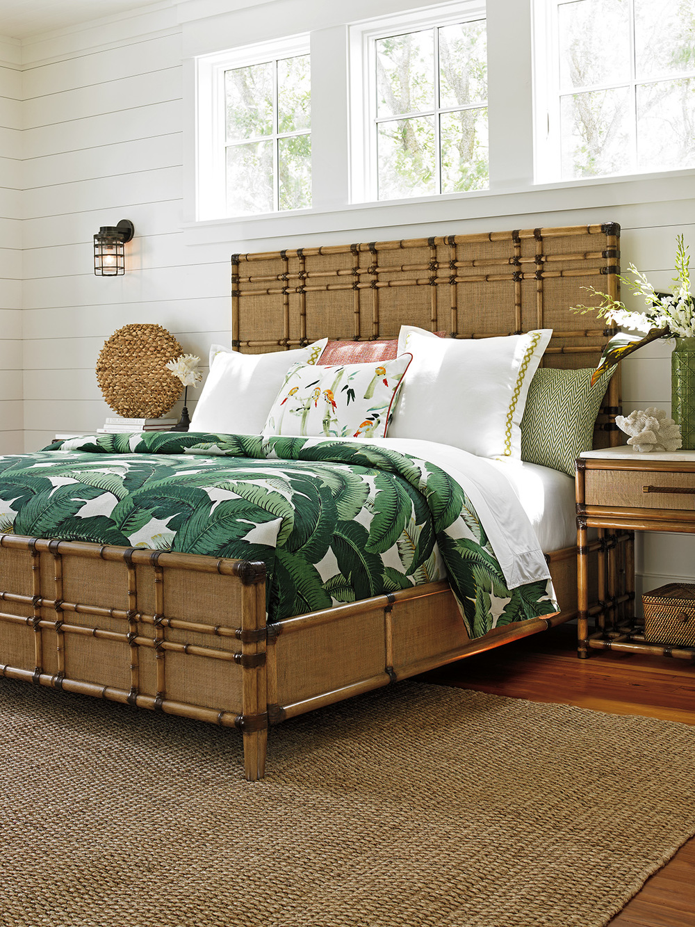 Lexington - Coco Bay Panel Bed