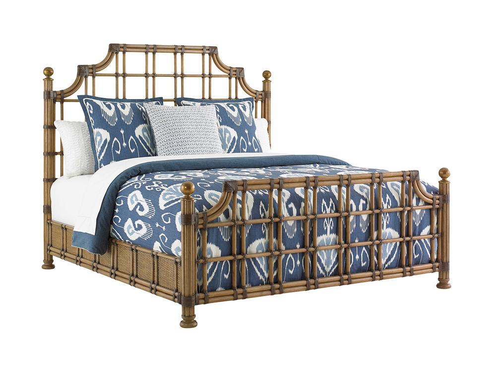 Lexington - St. Kitts Rattan Bed