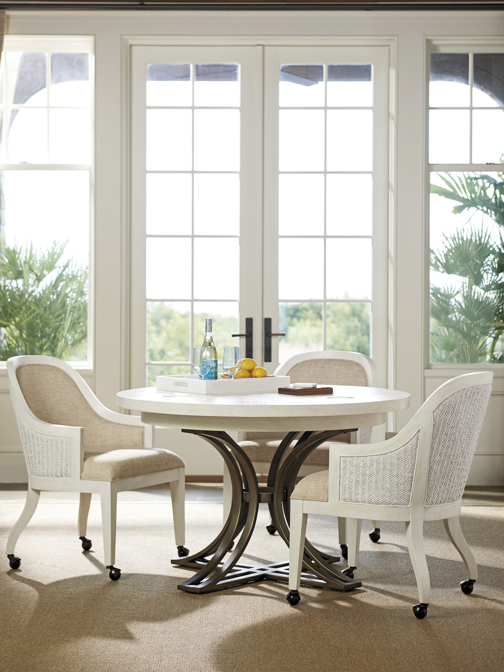 Lexington - Bayview Arm Chair With Casters