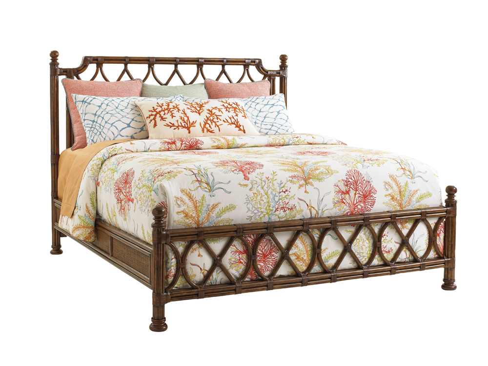 Lexington - Island Breeze Rattan Bed