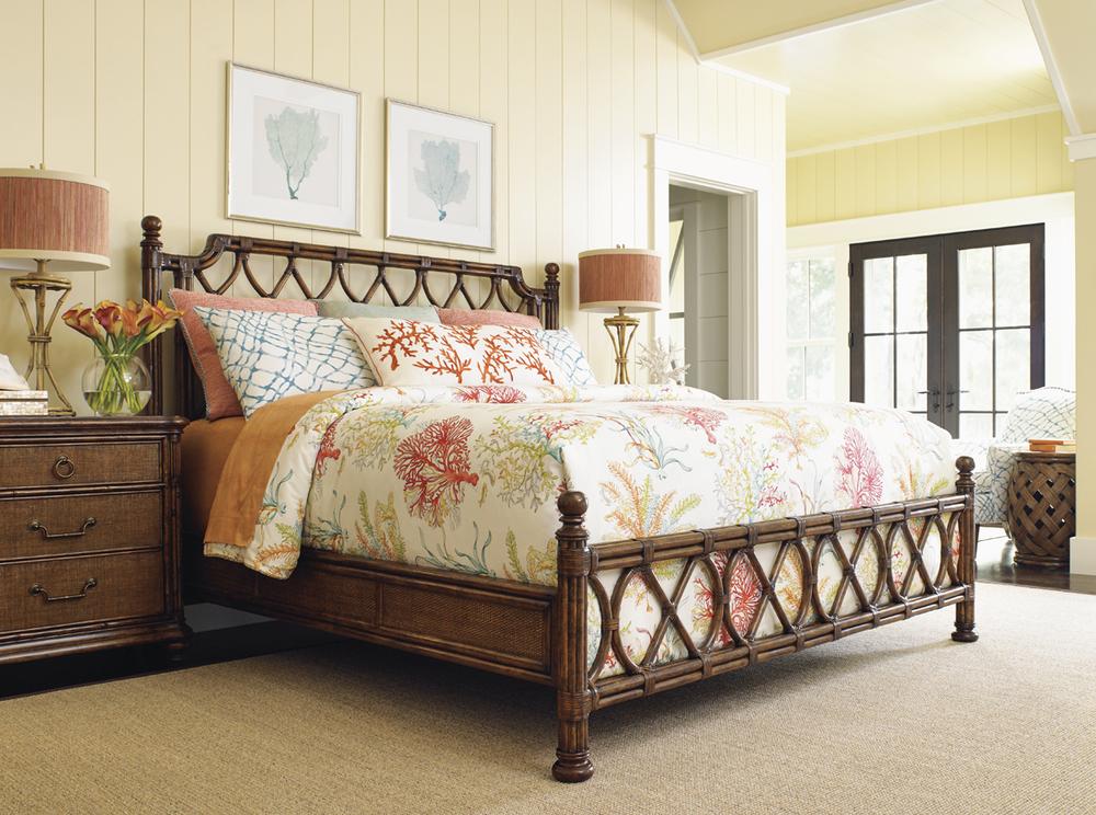 Lexington - Island Breeze Rattan Bed