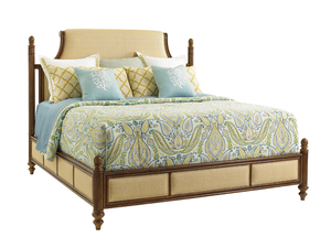 Thumbnail of Lexington - Orchid Bay Upholstered Panel Bed