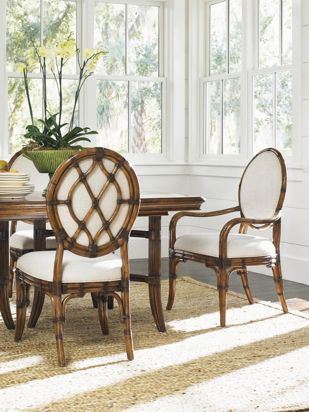 Lexington - Gulfstream Oval Back Arm Chair