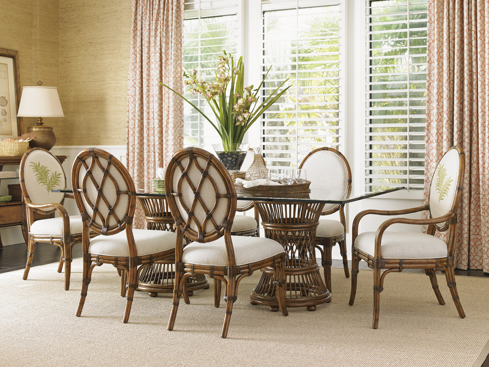 LEXINGTON HOME BRANDS - Gulfstream Oval Back Arm Chair