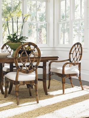 Thumbnail of Lexington - Cedar Key Oval Back Arm Chair