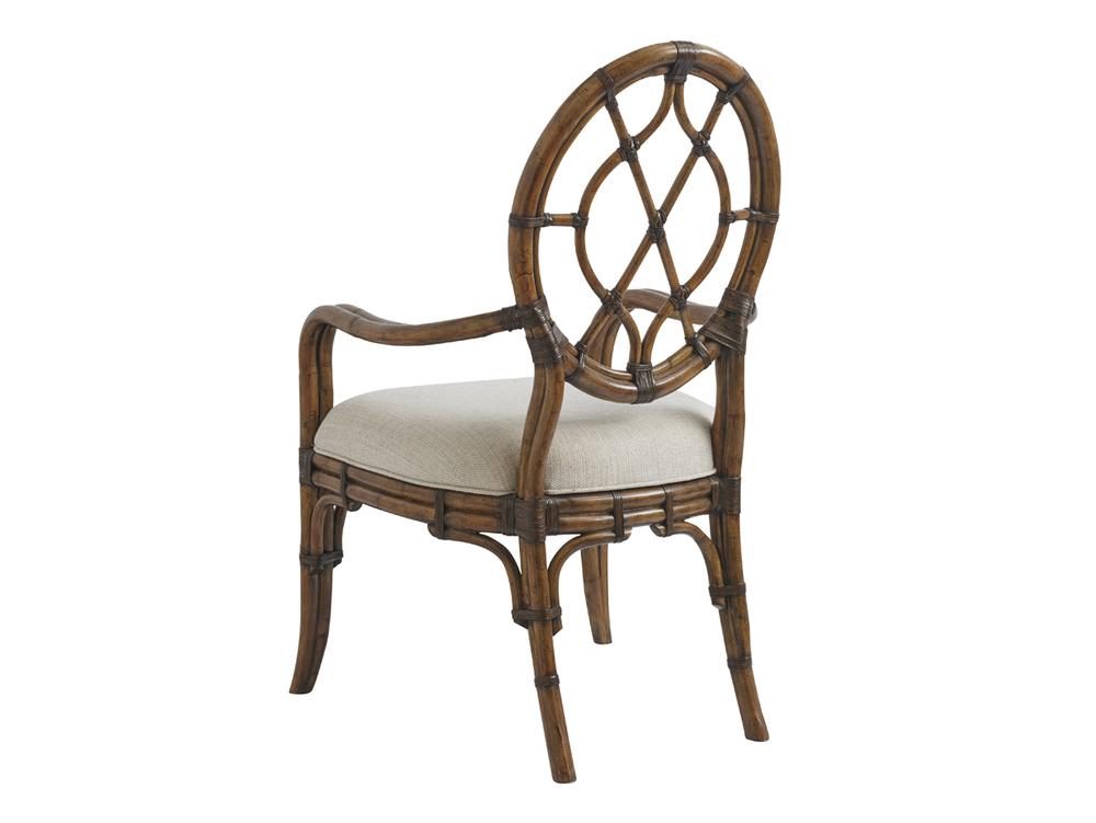 Lexington - Cedar Key Oval Back Arm Chair