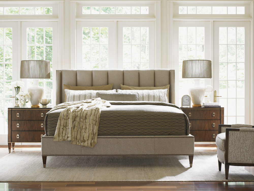 Lexington - Barrington Upholstered Platform Bed