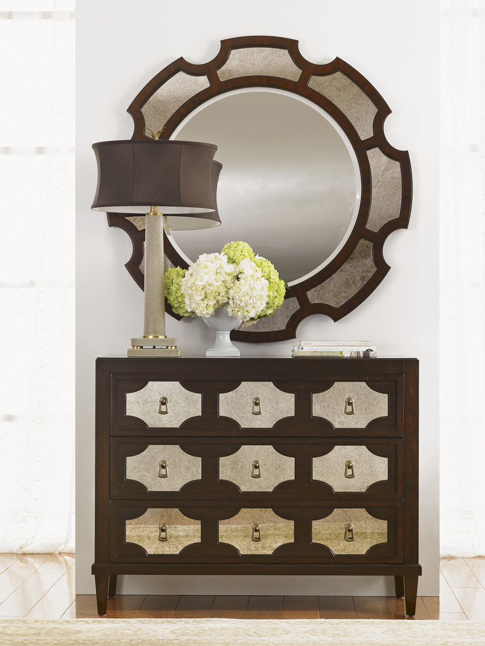 Lexington - Del Mar Round Mirror