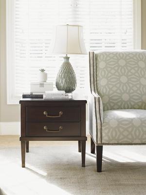 Thumbnail of Lexington - Chandler Drawer Lamp Table