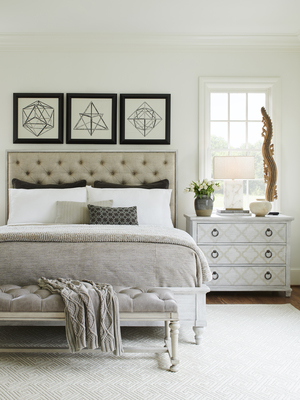 Thumbnail of Lexington - Sag Harbor Tufted Upholstered Bed