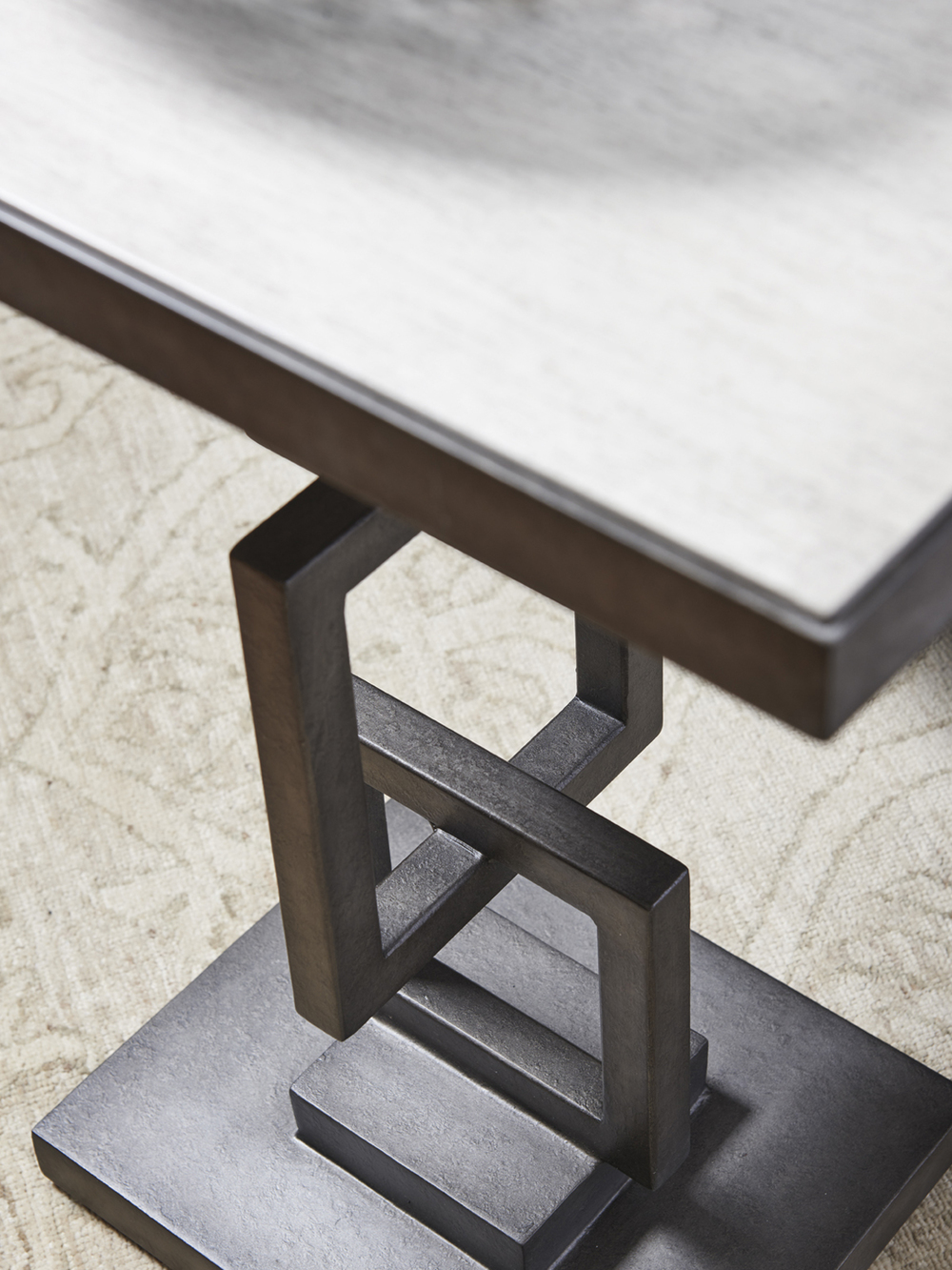 Lexington - Deerwood Rectangular Side Table