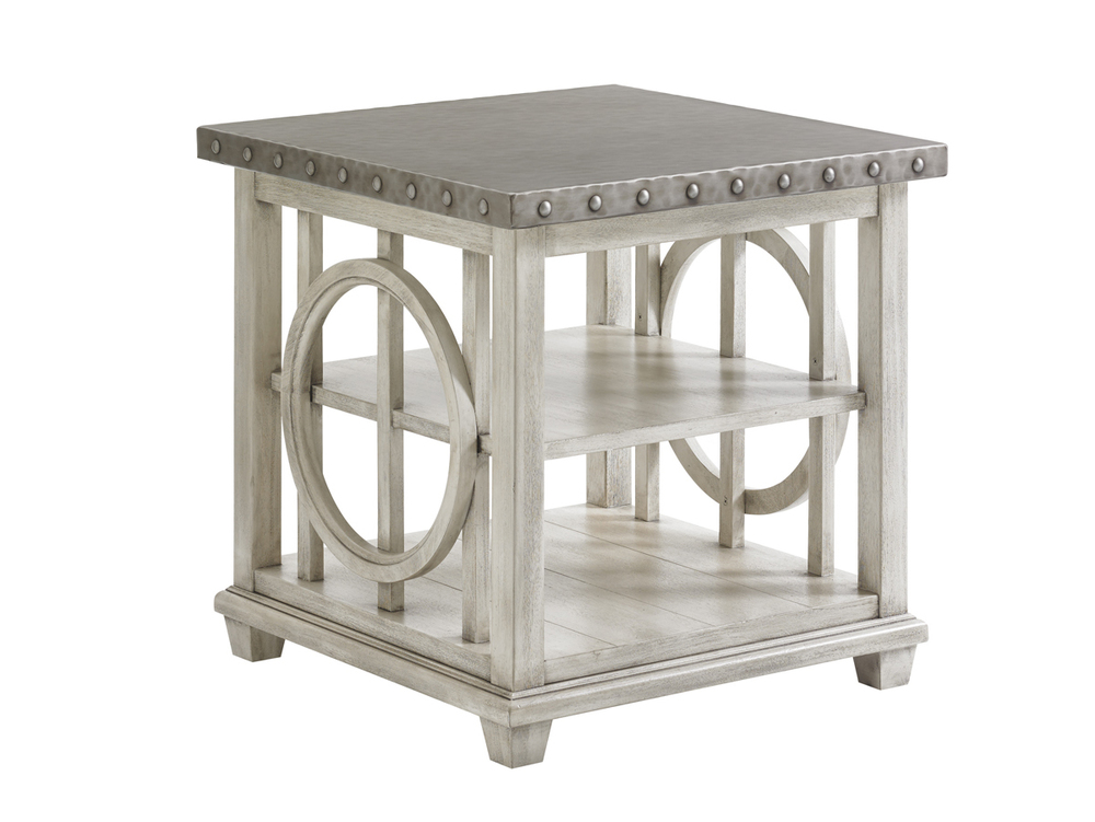 Lexington - Lewiston Square Lamp Table