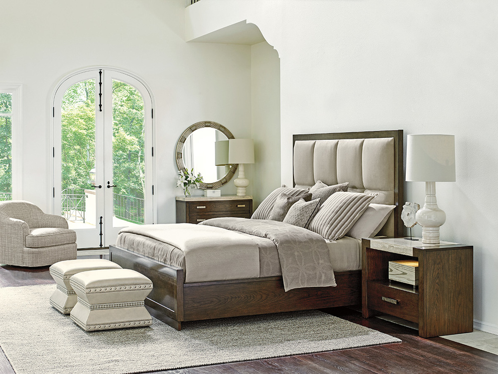 Lexington - Casa Del Mar Upholstered Bed