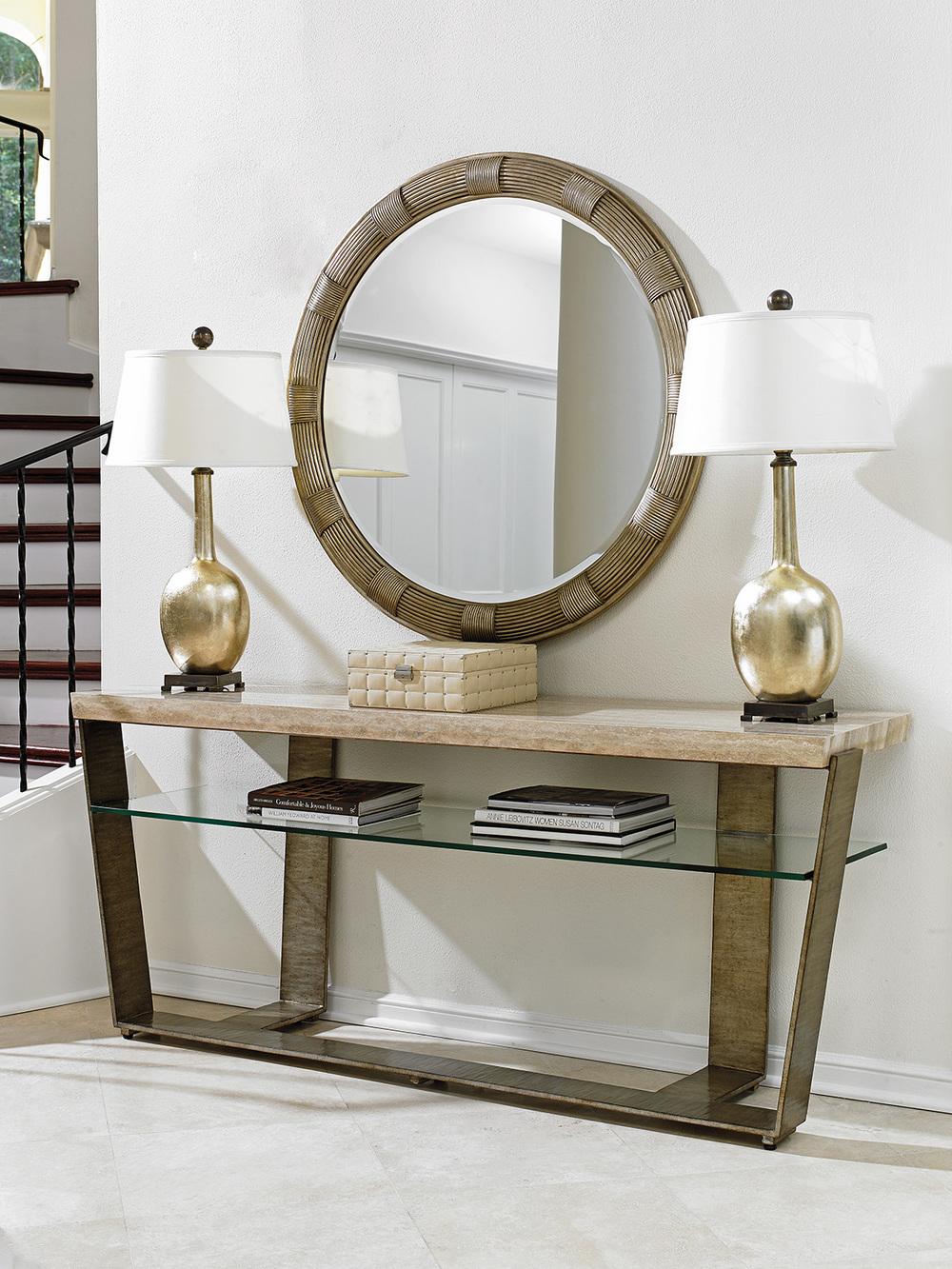 Lexington - Beverly Round Mirror