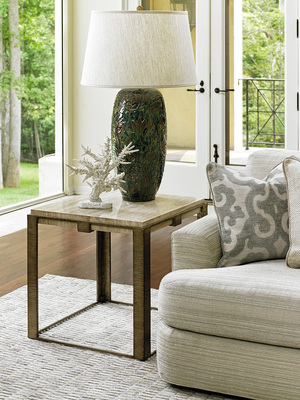 Thumbnail of Lexington - Stone Canyon Lamp Table