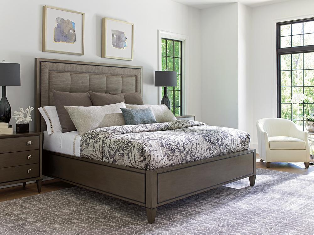 Lexington - St. Tropez Upholstered Panel Bed