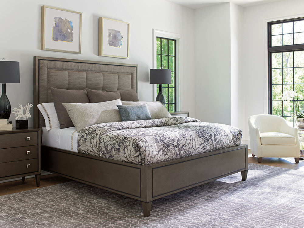 Lexington - St. Tropez Upholstered Panel Bed