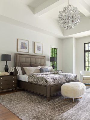 Thumbnail of Lexington - St. Tropez Upholstered Panel Bed