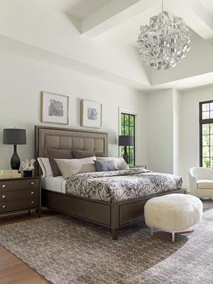 Thumbnail of Lexington - St. Tropez Upholstered Panel Bed