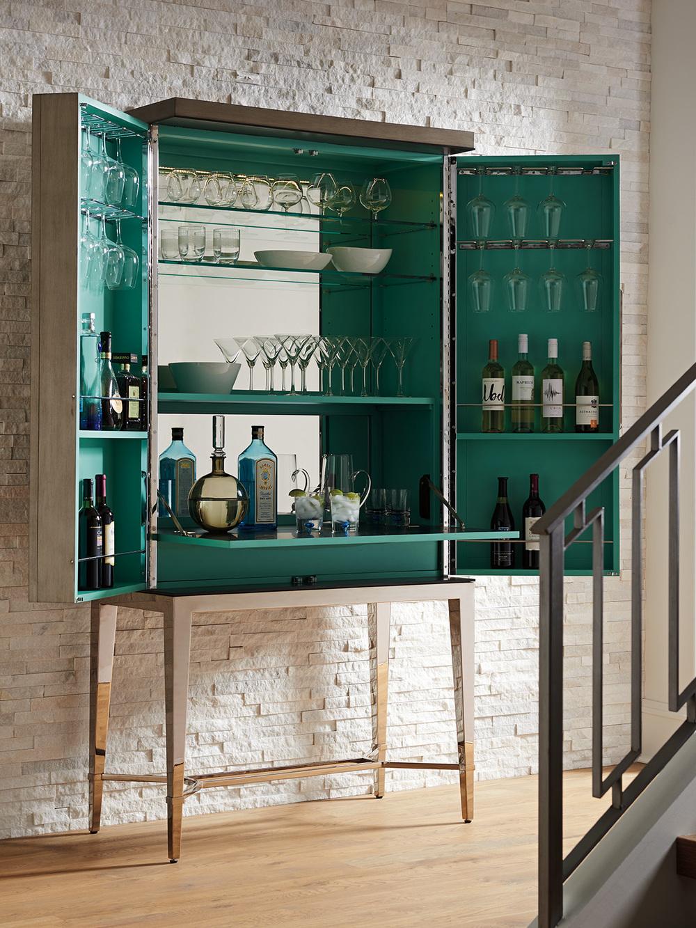 Lexington - Cheval Bar Cabinet