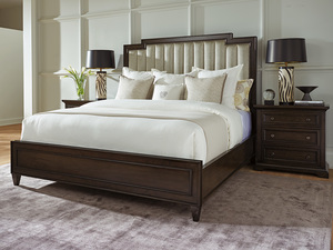 Thumbnail of Lexington - Candice Channeled Upholstered Bed
