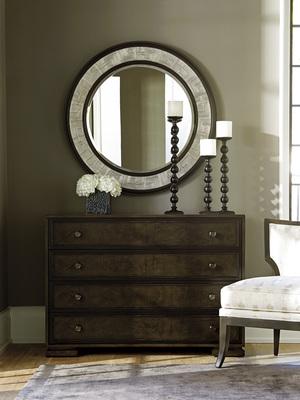 Thumbnail of Lexington - Georgina Round Mirror