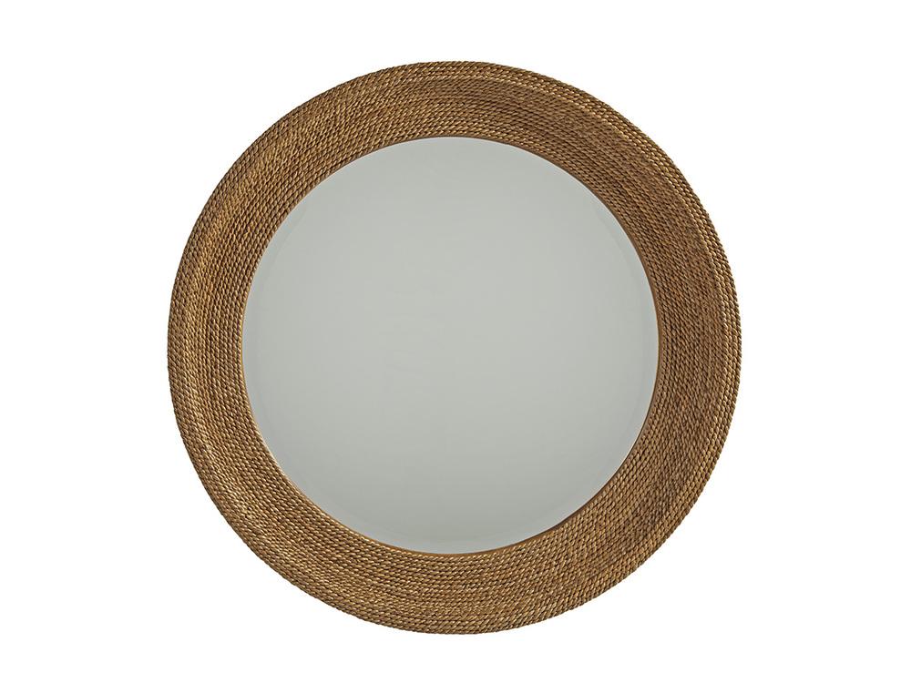 Lexington - La Jolla Woven Round Mirror